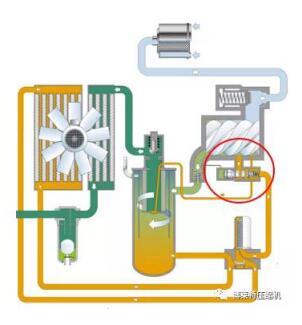空压机断油阀工作原理