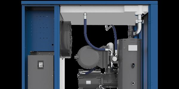 螺杆式空压机的特点及工作原理