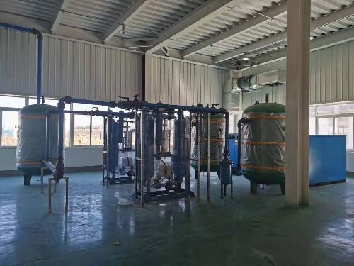 新建厂房,永磁变频空压机&节能管道安排上!
