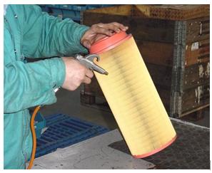 青岛空压机维修-清理空气滤清器