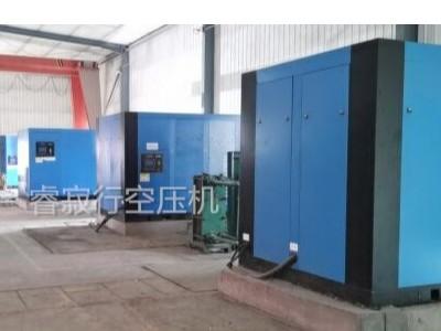 青岛空压机助力玻璃纤维棉企业扩建项目!