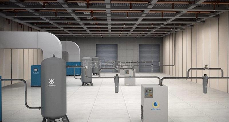 博莱特超高效油冷永磁变频空压机