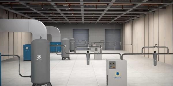 博莱特超高效油冷永磁变频空压机的特点及优势!