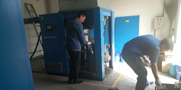 青岛城阳空压机维修哪家好?