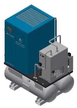 博莱特激光切割专用空压机一体机