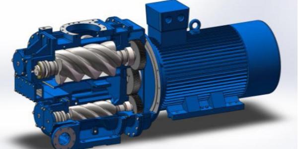 螺杆式空压机原理是什么?