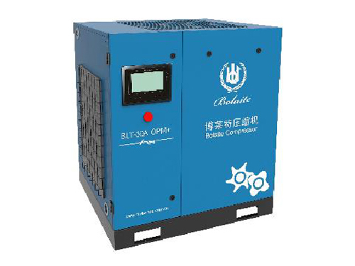 山东青岛某包装材料公司选用睿寂行油冷永磁变频螺杆空压机