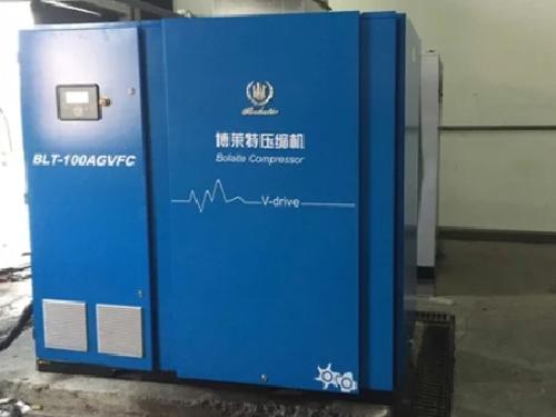 青岛某橡胶厂选用睿寂行变频螺杆空压机