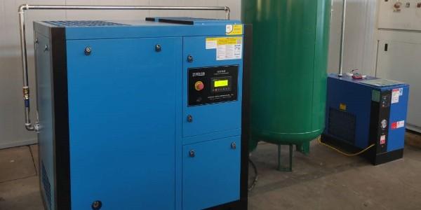 熔喷机用空压机选定后,其后处理如何选择?