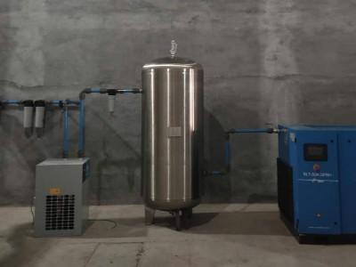 祝贺!青岛某食品公司喜提三台油冷永磁变频螺杆空压机