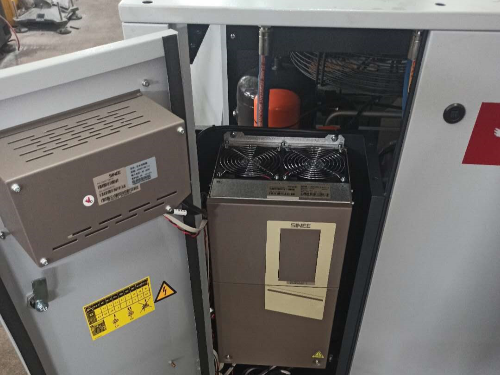 博莱特永磁变频空压机安装完成